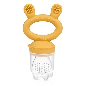 Haakaa - Fresh Food Feeder and Teether MUSTARD