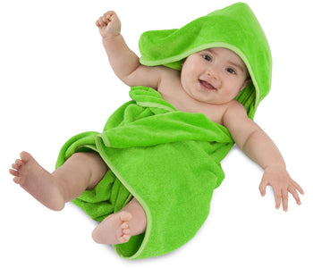 Mum2Mum Hooded Towel LIME