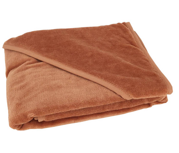 Mum2Mum Hooded Towel RUST
