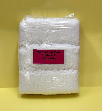 Supervalue Maternity Pads - Pack of 50pcs (Individually Wrapped)
