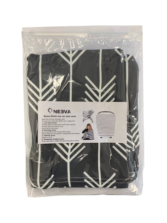 Neeva 4 in 1 Infant Capsules Cover (Black-White Arrows) - Babyonline