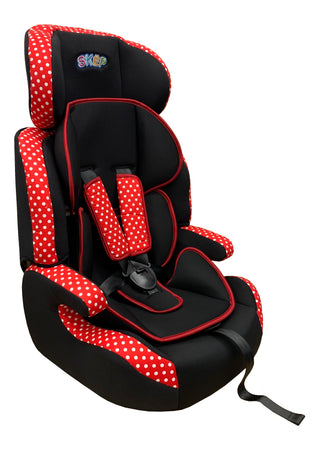 CT515 - SKEP Comfort Travel 9-36kg: Red/Dots - Babyonline