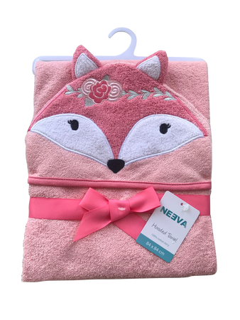 Neeva Hooded Towel PINK FOX