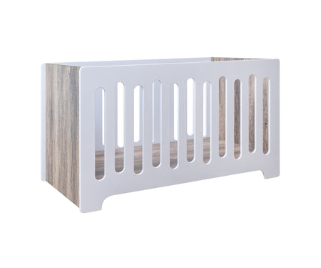 Kapai JUPITER Fixed Side Wooden Baby Cot / Study Desk +FREE Kids Wooden Wall Mounted Hooks