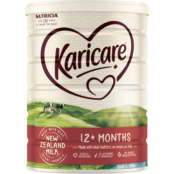 Karicare+ Toddler Growing Up Milk Stage 3 (Blue) - 900g