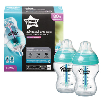 Tommee Tippee Closer To Nature Advanced Anti-Colic Feeding Bottles - Babyonline