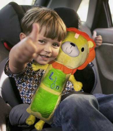 SKEP Seat-Belt Hugging Cushion - Lion - Babyonline