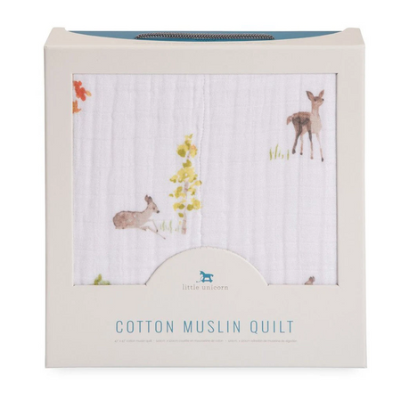 Little Unicorn Muslin Quilt - Oh Deer