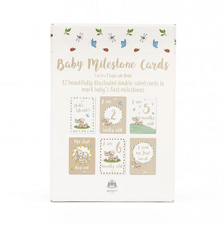 Jellycat Bashful Bunny - Baby's First Photo Cards