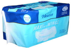 Neeva Sanitary Pads with Wings - 10pcs - Babyonline