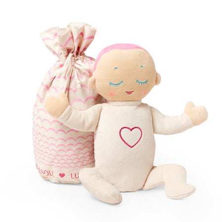 Lulla Doll Generation 3 - Baby & Child Sleep Companion - CORAL - Babyonline