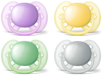 Avent Soother Ultra Soft - Pack of 2 - Babyonline
