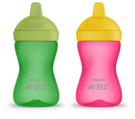 Avent Grippy Cup Hard Spout (12m+) 300ml - Babyonline