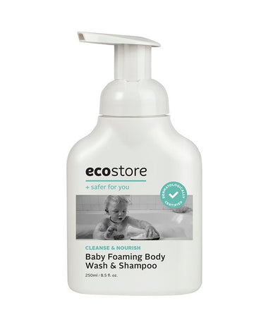 EcoStore Baby Foaming Body Wash & Shampoo 250ml - Babyonline