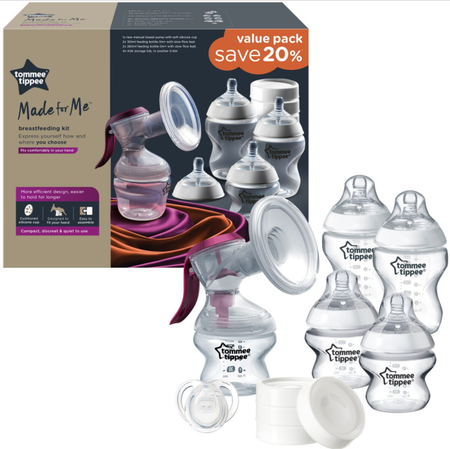 Tommee Tippee Made for Me - Manual Breast Feeding Kit