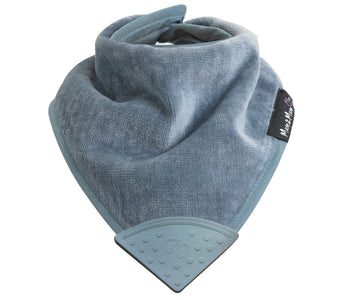Mum2Mum Wonder Bib Teething Bandana GREY