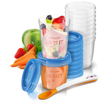 Avent Food Storage Set - Pack of 20 - Babyonline
