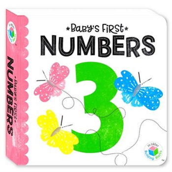 Building Blocks Neon Babys First Board Book- Numbers