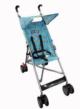 A6-SKEP Super Buggy - Blue/Teddy Bear - Babyonline