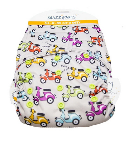 Snazzipants All in One Cloth Nappy