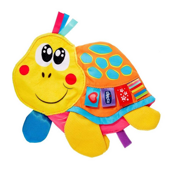 Chicco Molly Cuddly Turtle Textile Rattle
