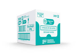 Huggies 80's Wipes Shipper Deal - (4 PACKS BOX) - Babyonline