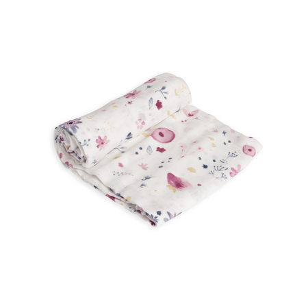 Little Unicorn Single Deluxe Muslin Swaddle - Fairy Garden