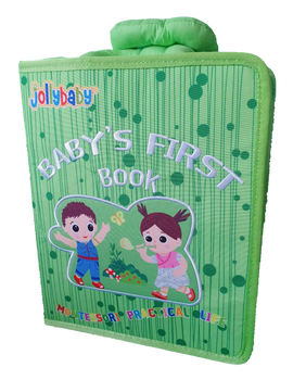 Baby's First Sensory Book - GREEN - Babyonline