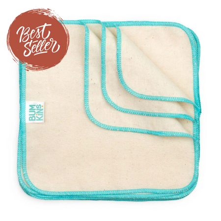 Bumkins Reusable Baby Wipes Pack of 12