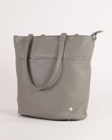 Little Unicorn Nappy bag - Citywalk Tote GREY UMBER