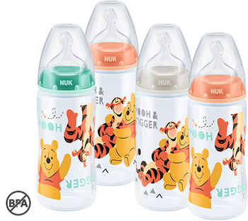 NUK First Choice Winnie the Pooh / Tigger Bottle - Babyonline