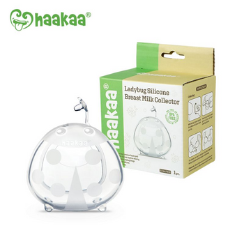 Haakaa Ladybug Silicone Breast Milk Collector (75ml)