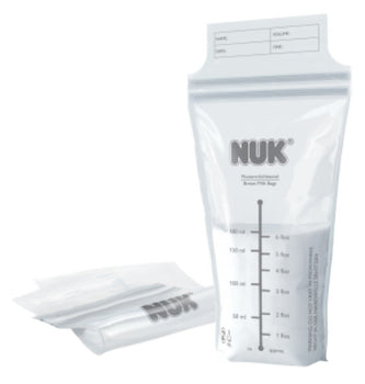 NUK Breast Milk Bags - Pack of 25 - Babyonline