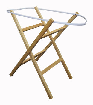 Cross Wooden Stand for Moses Basket - NATURAL - Babyonline