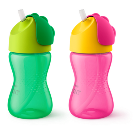 Avent Bendy Straw Cup (12m+) 300ml - Babyonline