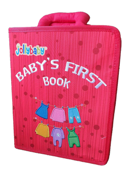 Baby's First Sensory Book - RED - Babyonline