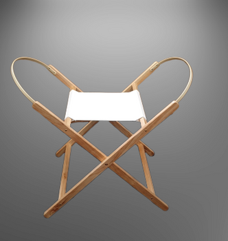 Moses Basket Wooden Folding Stand