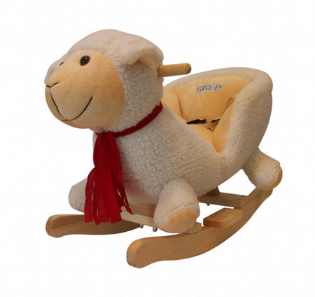 SKEP - Baby Rocking Chair - White Sheep