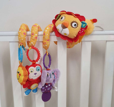Crib Activity Spiral - LION - Babyonline