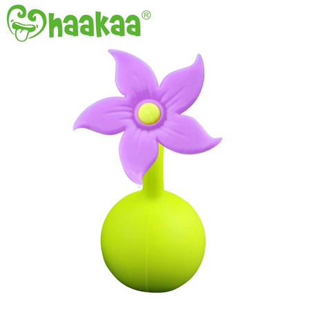 Haakaa - Flower Stopper (Purple) - Babyonline