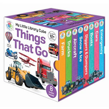 Building Blocks My Little Cube: Things That Go - Board Books