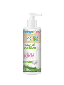 BabyallSafe Natural Sanitiser for Bottles & Soothers 250ml - Babyonline