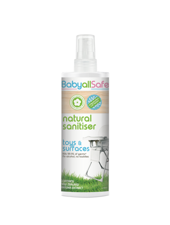 BabyallSafe Natural Sanitiser for Toys and Surfaces 250ml - Babyonline