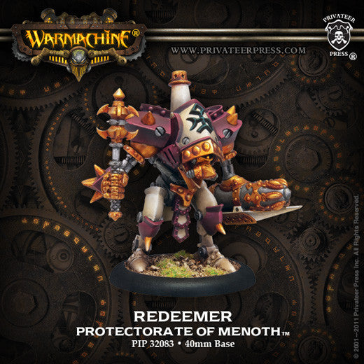 Privateer Press Warmachine: (The Protectorate Of Menoth) Redeemer