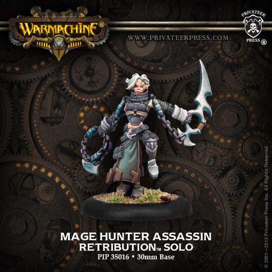 Privateer Press Warmachine: (Retribution Of Scyrah) Mage Hunter Assassin