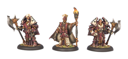 Privateer Press Warmachine: (The Protectorate Of Menoth) Visgoth Rhoven & Exemplar Bodyguards