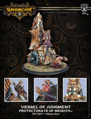 Privateer Press Warmachine: (The Protectorate Of Menoth) Vessel Of Judgment Battle Engine