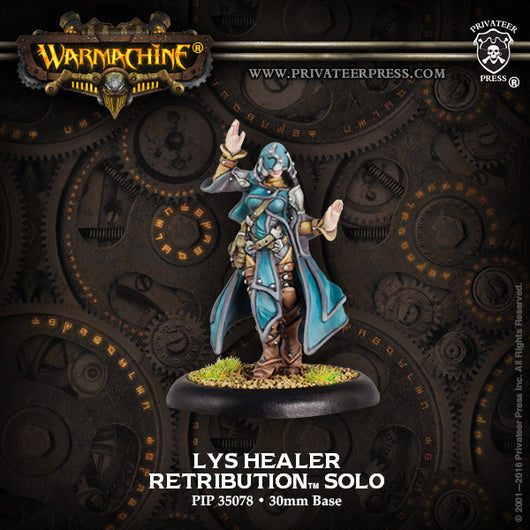 Privateer Press Warmachine: (Retribution Of Scyrah) Lys Healer