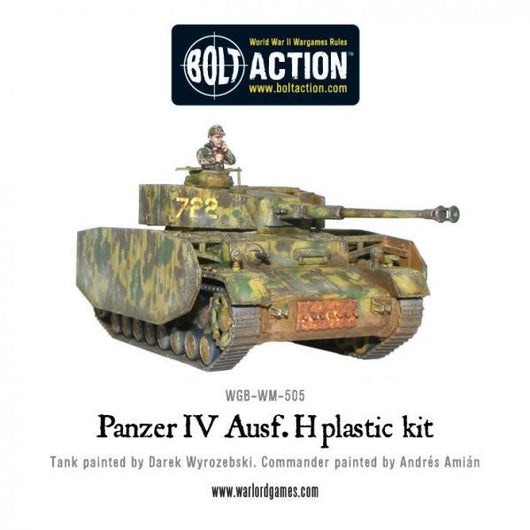 more photos online shop special section Warlord Games Bolt Action: (German) Panzer IV Ausf. H