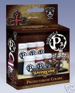 Privateer Press Formula P3 Paints: The Protectorate Of Menoth Colors Box Set